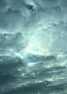 阿弥陀如来の雲